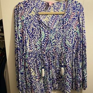 ❤️sale❤️ Lilly Pulitzer bell sleeve top